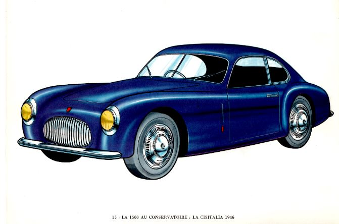 Cisitalia 1946 12 cyl porsche 2 compresseurs