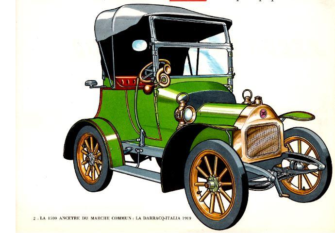 Darracq Italia 1909