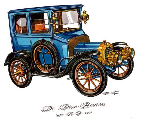 Dedion Bouton 1907