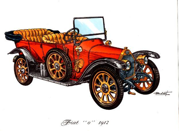 Fiat 0  1912