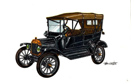 Ford T 1907