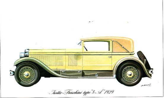 Isotta Fraschini 1929