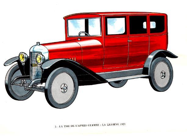 La Licorne 1921