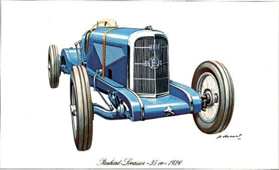 Panhard Levassor 35CV 1926