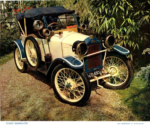 Quadrillette Peugeot