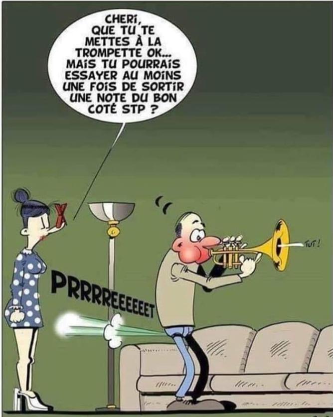 Pet trompette